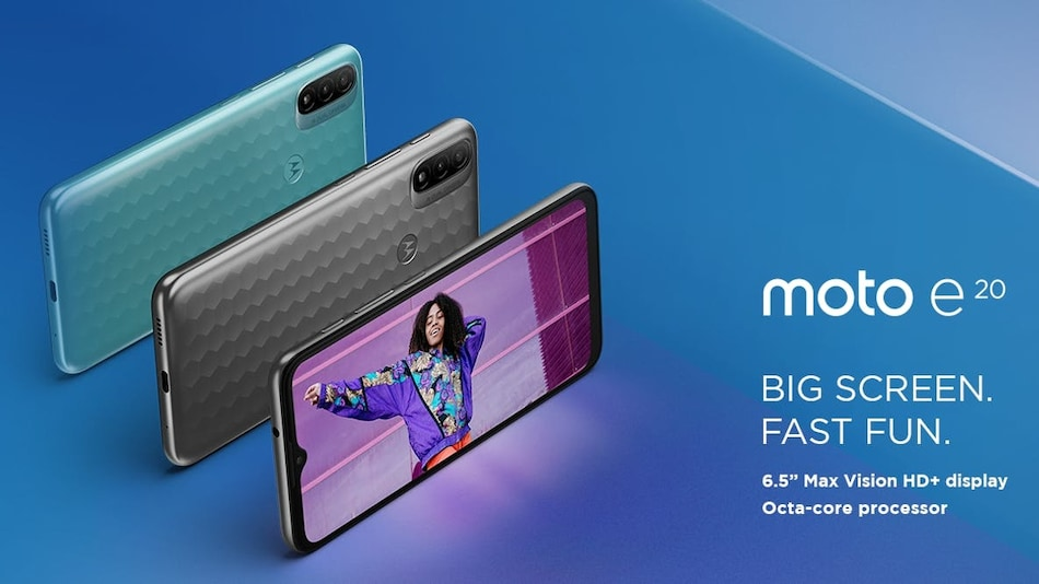 Motorola Moto E20 With Dual Rear Cameras Launched; Moto E40 Specifications Appear on Geekbench