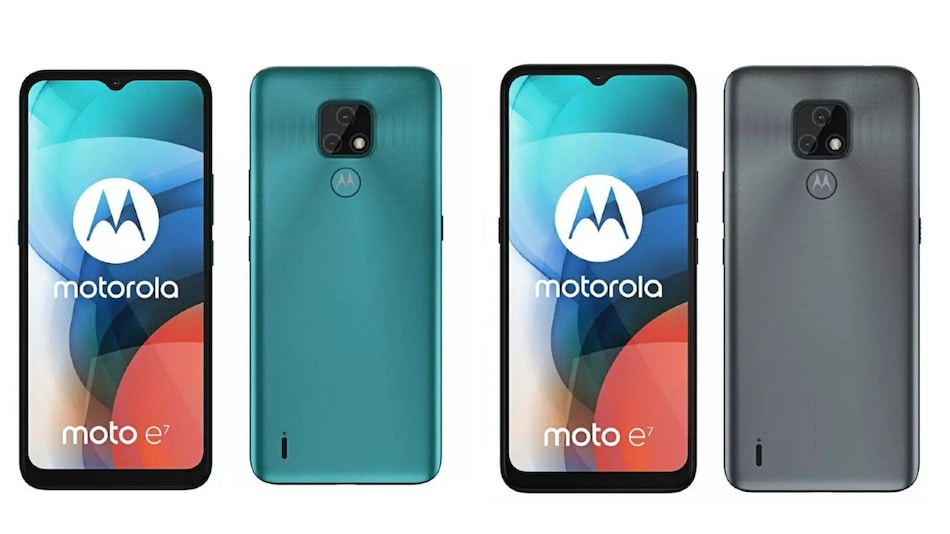 Moto E7 Renders, Key Specifications Leak; Tipped to Come With 48-Megapixel Primary Camera