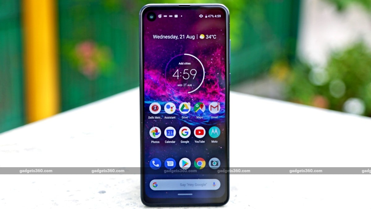Motorola One Action Goes on Open Sale in India: Price