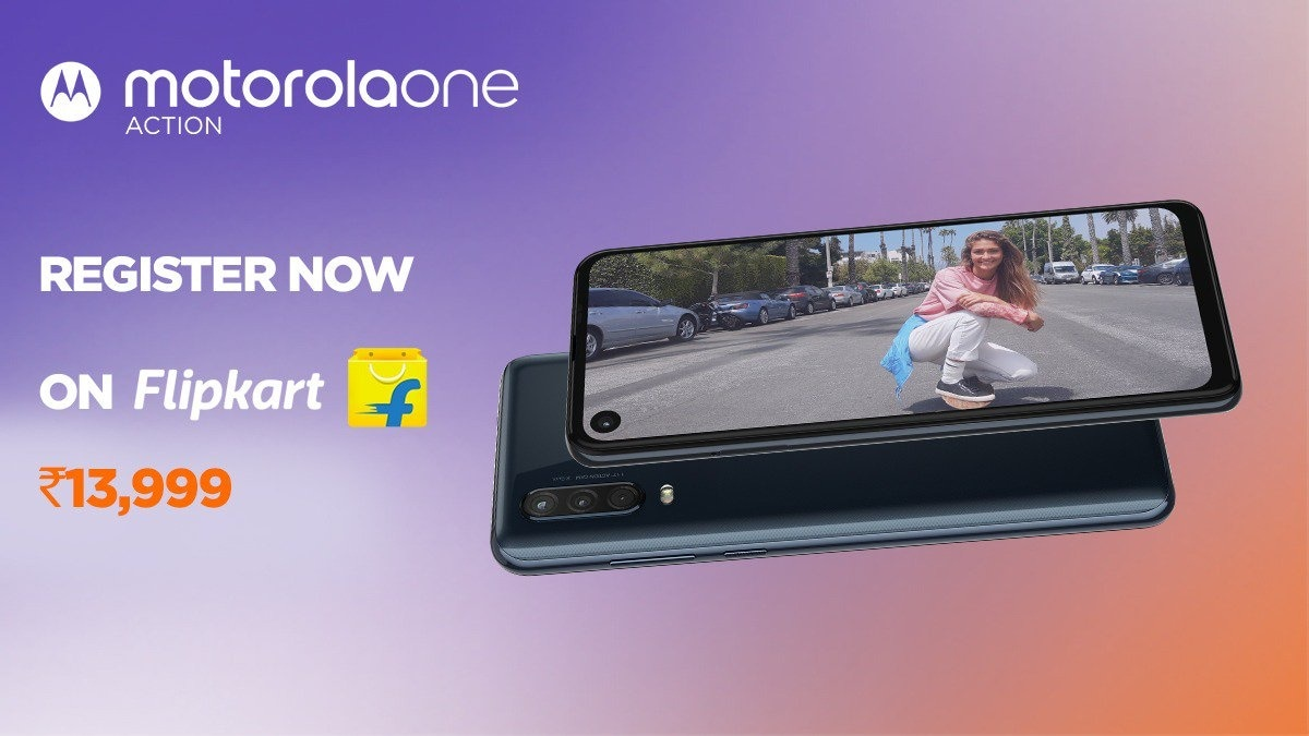 Motorola One Action Price in India Set at Rs. 13,999, First Sale on August 30: Event Highlights