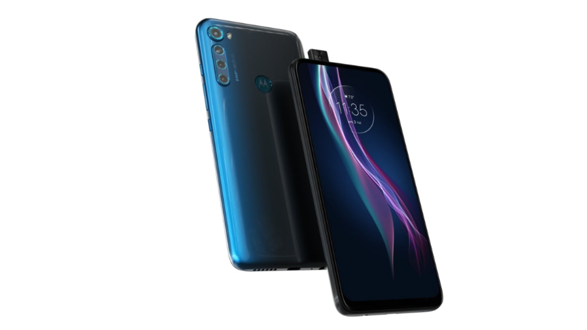 Motorola One Fusion Plus is a mid-range android mobile phone with stunning specs and features, expected to be available in Moonlight White and Twilight Blue colours.