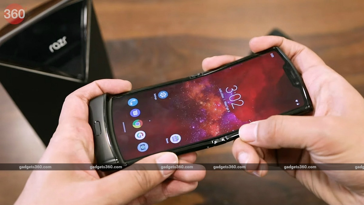 Motorola Razr (2019) India Sale Date Postponed Once Again to May 6, Post Lockdown Extension