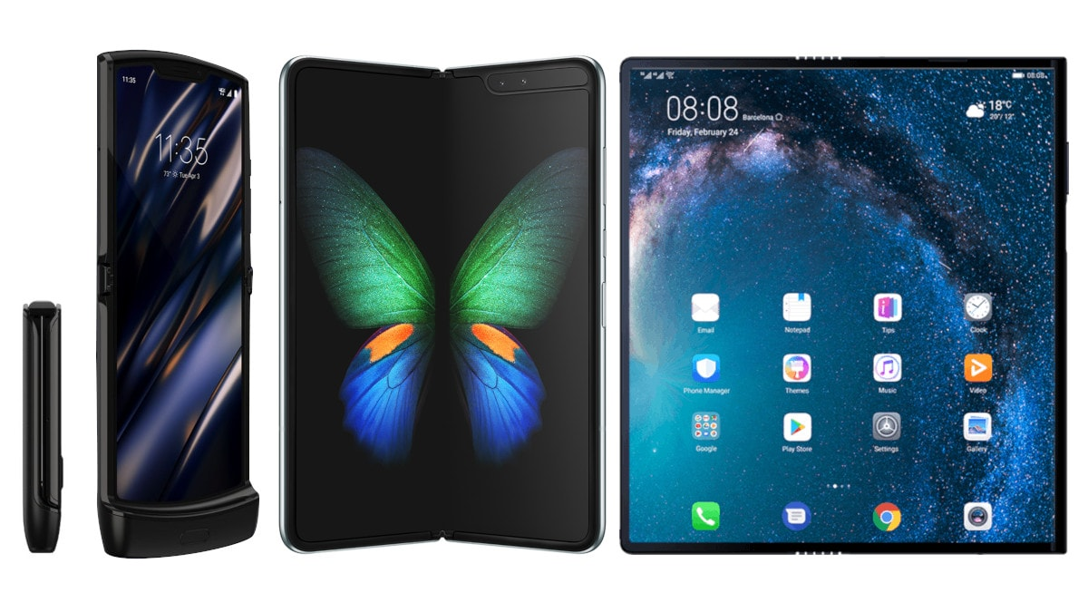 Motorola Razr (2019) vs Samsung Galaxy Fold vs Huawei Mate X: Price, Specifications Compared