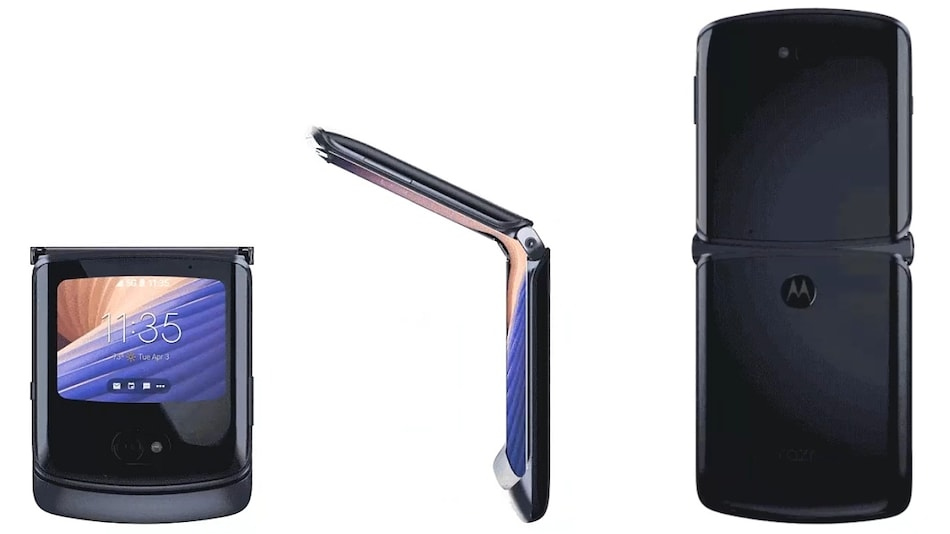 Motorola Razr 5G Foldable Smartphone Leaked in 360-Degree Video Ahead of Launch