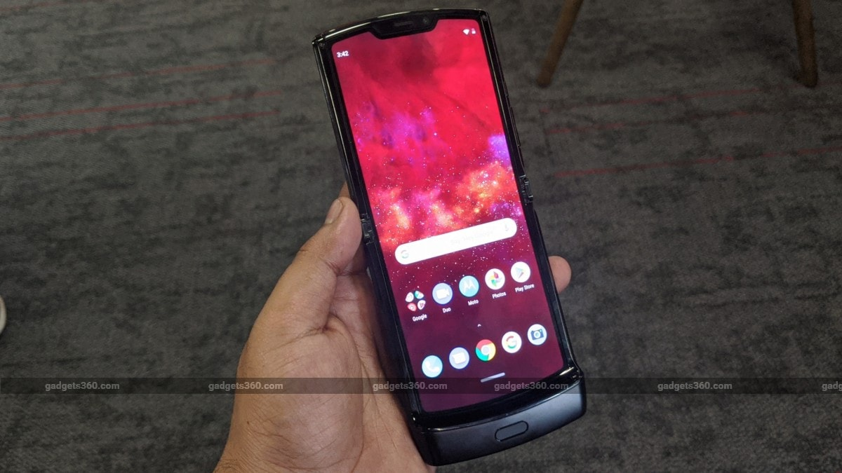 Motorola Razr (2019) Foldable Phone With Snapdragon 710 SoC Launched in India: Price, Specifications