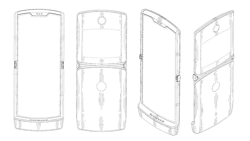Motorola Razr Foldable Smartphone Design May Just Have Been Spotted