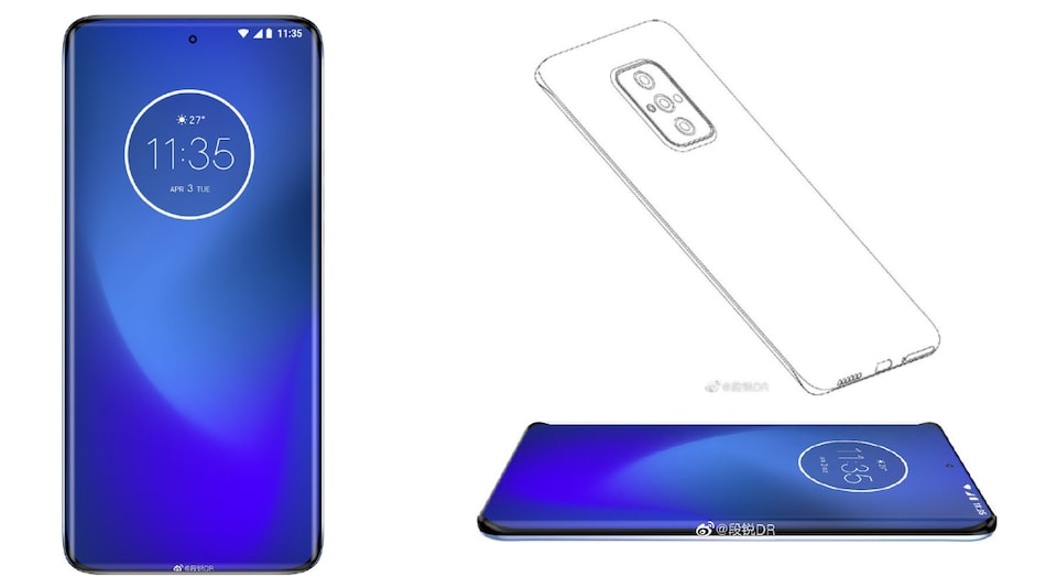 Motorola Could Be Working on Flagship Phone With Quad-Curved Display, Leaked Renders Show