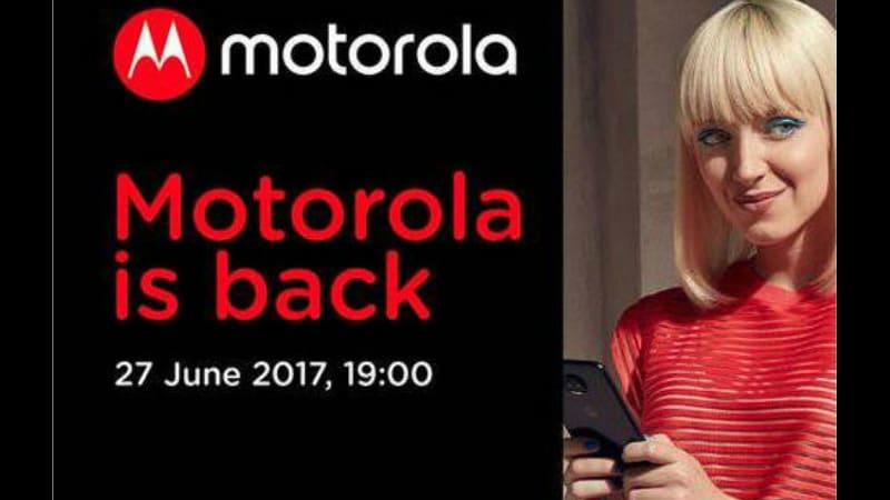 मोटोरोला का इवेंट 27 जून को, Moto Z2 हो सकता है लॉन्च