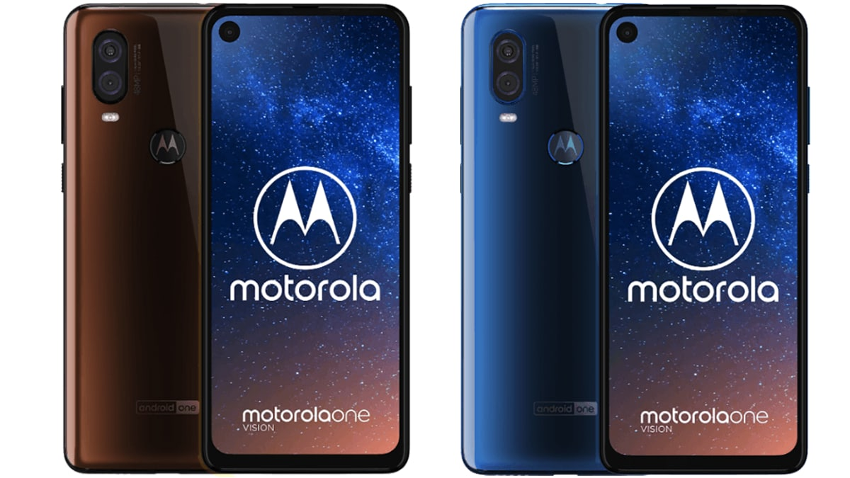 Motorola One Vision Price, Full Specifications Surface Online Ahead of Launch