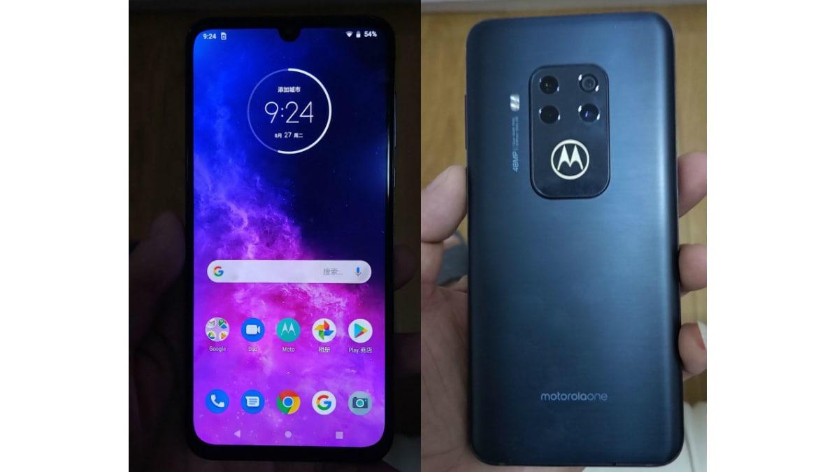 Motorola One Zoom की तस्वीरें लीक, चार रियर कैमरों की मिली झलक