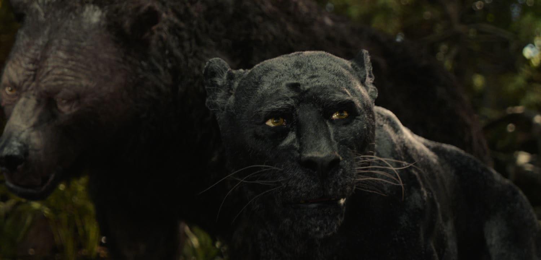 mowgli bagheera christian bale Mowgli Christian Bale Bagheera