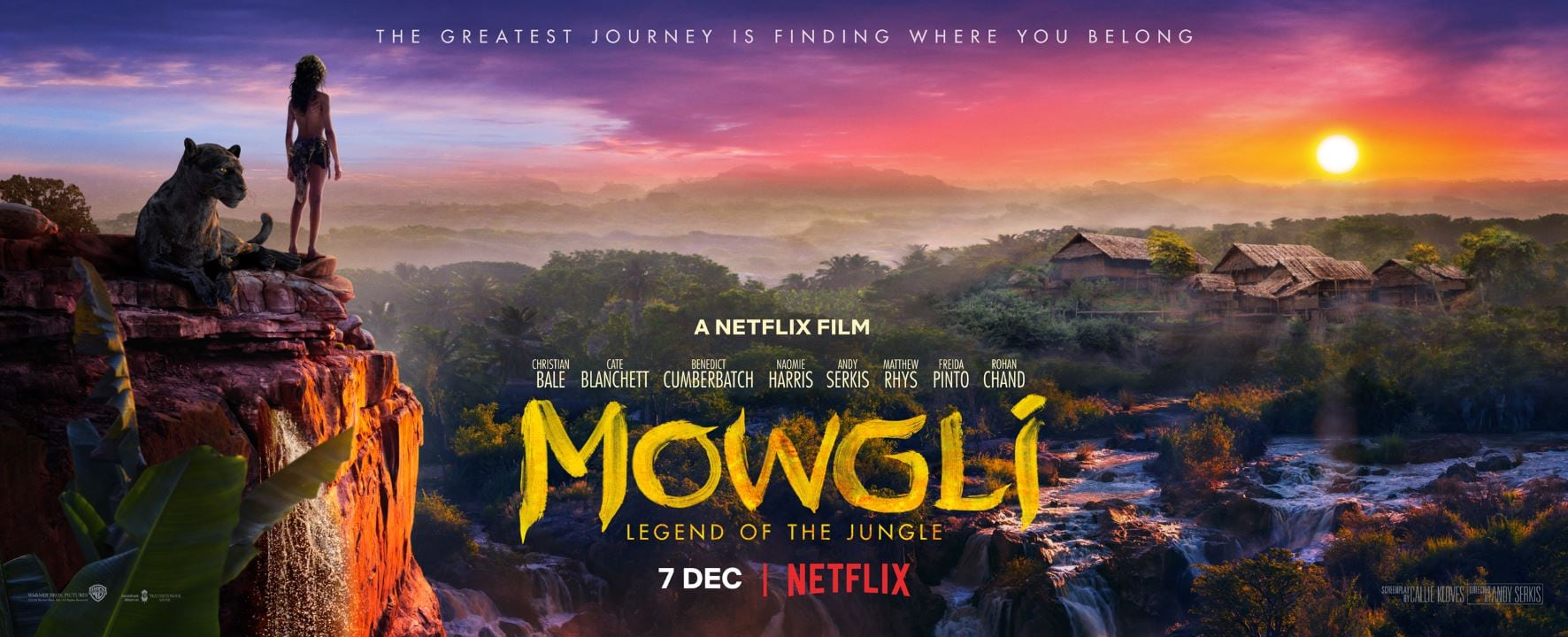 Netflix, Andy Serkis' Mowgli: Legend of the Jungle Gets December Release Date, New Trailer