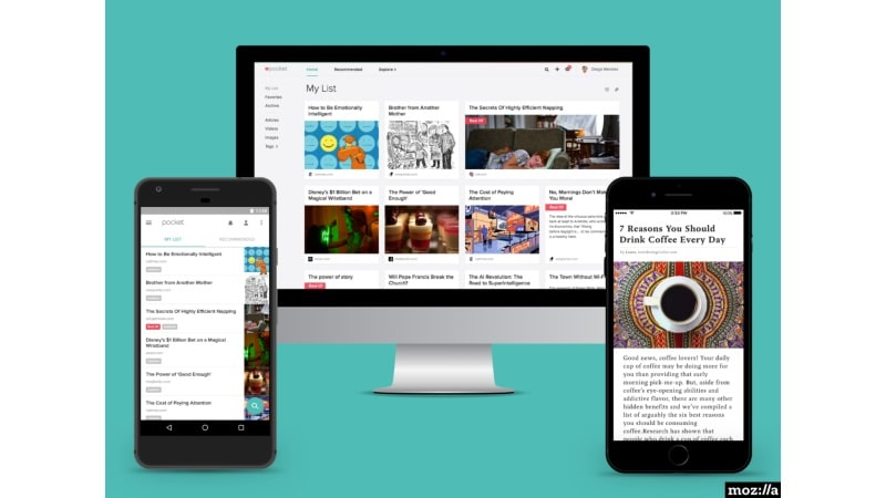 Mozilla Acquires Pocket, Says the Read-It-Later Service Will Operate Independently