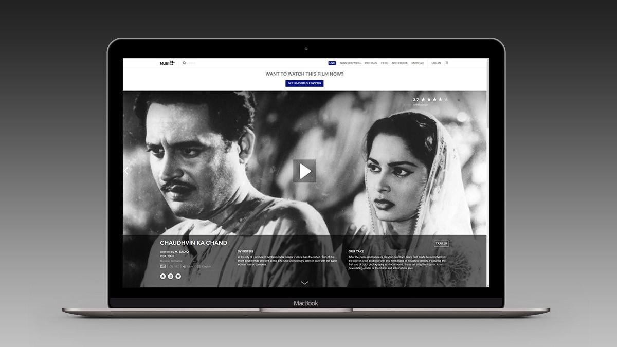 mubi laptop Mubi India