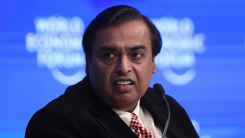 Reliance Chairman Mukesh Ambani Outlines Plan to Take on Amazon in India