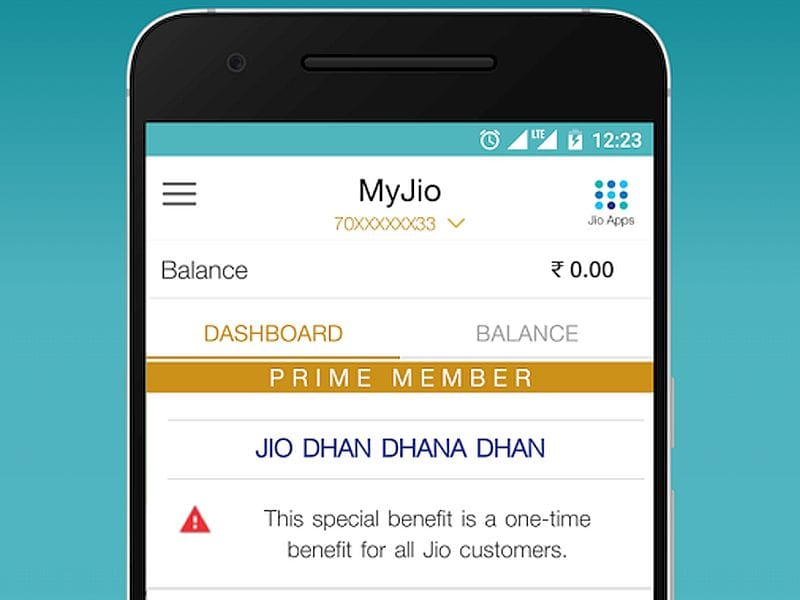 Reliance Jio's MyJio App Crosses 100 Million Downloads on