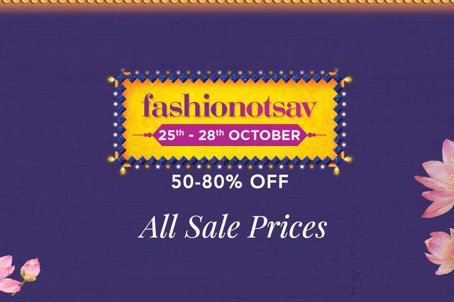 Myntra Fashionotsav Sale 25th-28th Oct 2018, Prep Up For Diwali with Handpicked Best Deals