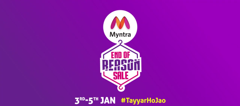 Myntra Eyes 25-Fold Jump in Revenue From 'End of Reason' Sale