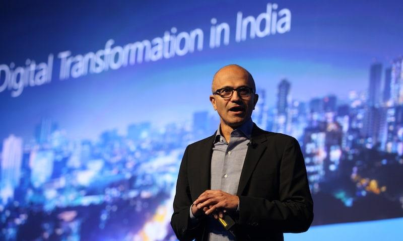 For Microsoft, Aadhaar Is the Next Big Platform