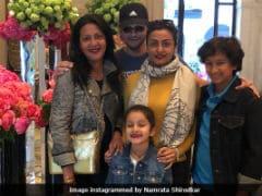 Namrata Shirodkar And Mahesh Babu's Paris Vacation Is Over. Here Are Last Pics