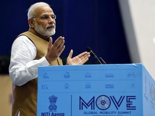 PM Modi Calls for Investments in E-Vehicle Production in Mobility Roadmap
