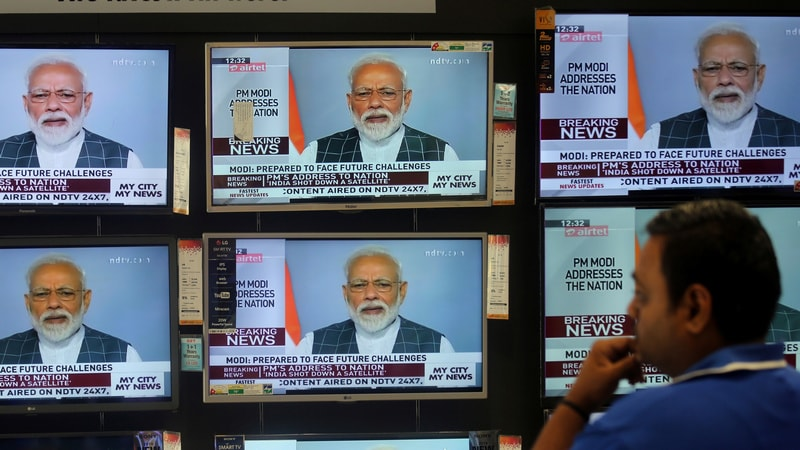 India Shoots Down Own Satellite, PM Modi Hails India's Arrival as 'Space Power'
