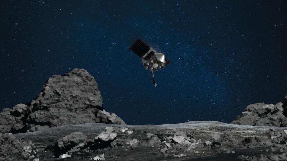 NASA Probe OSIRIS-REx Briefly Touches Asteroid Bennu to Collect Rare Samples