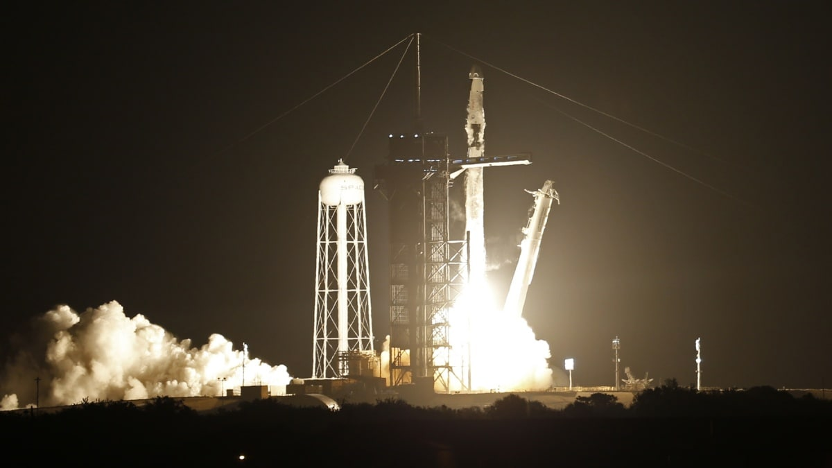 SpaceX-NASA Successfully Launches Crew-2 Astronauts to ISS: Watch Video