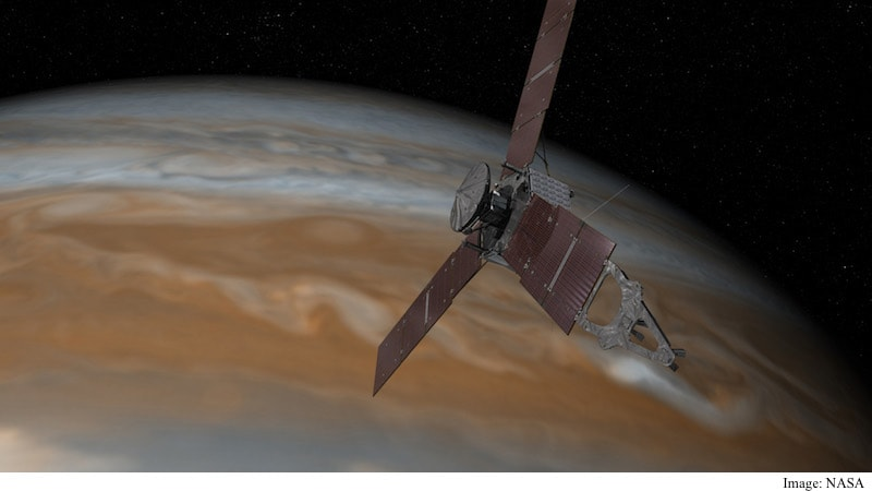 NASA's Juno Probe Exits Safe Mode