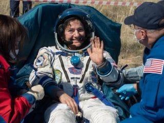 Astronauts Meir, Morgan, Skripochka Return from International Space Station