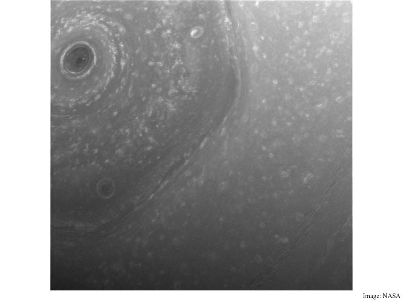 NASA's Cassini Probe Sends Back First Images of Saturn From Orbit