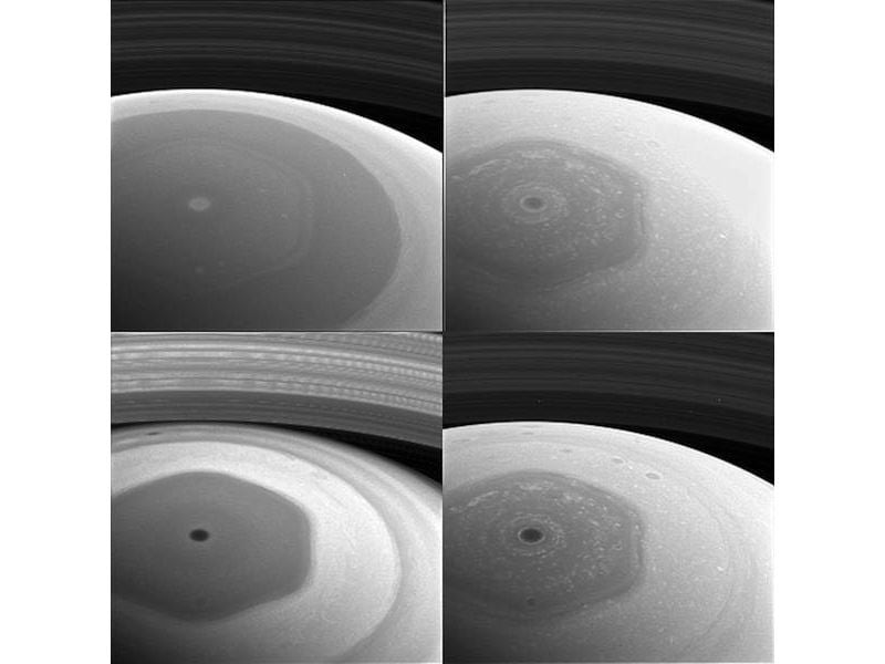nasa cassini saturn northern hemisphere Cassini  Saturn