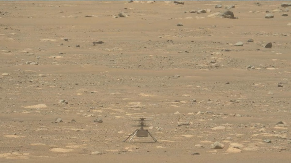NASA Postpones Mars Ingenuity Helicopter's Fourth Flight Due to Software Glitch