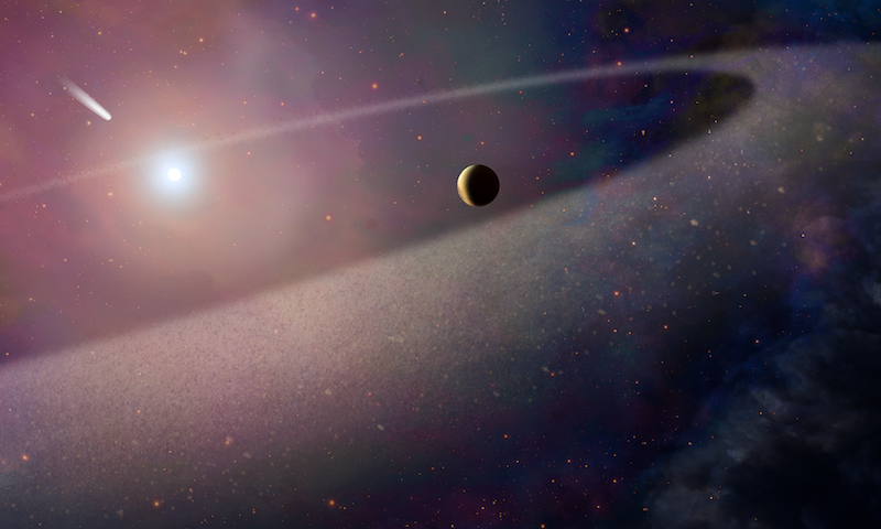 Scientists Discover White Dwarf Star With 'Ingredients for Life'