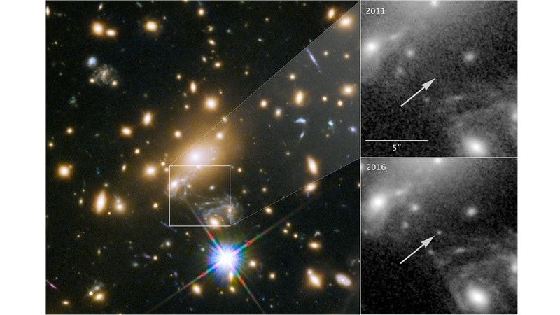 Hubble Space Telescope Spots Farthest Individual Star Ever Seen