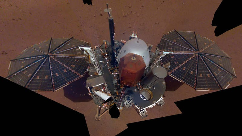 NASA's InSight Lander Now Providing Daily Weather Data From Mars