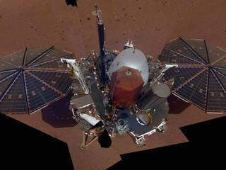 NASA's InSight Mars Lander Sends Back First Selfie on Mars