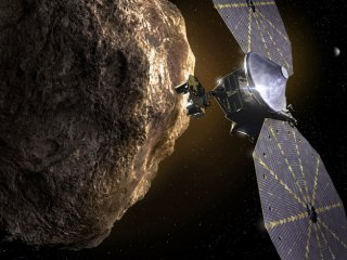 NASA's Asteroid Spacecraft Lucy Ready To Launch This Week For 12-Year Mission