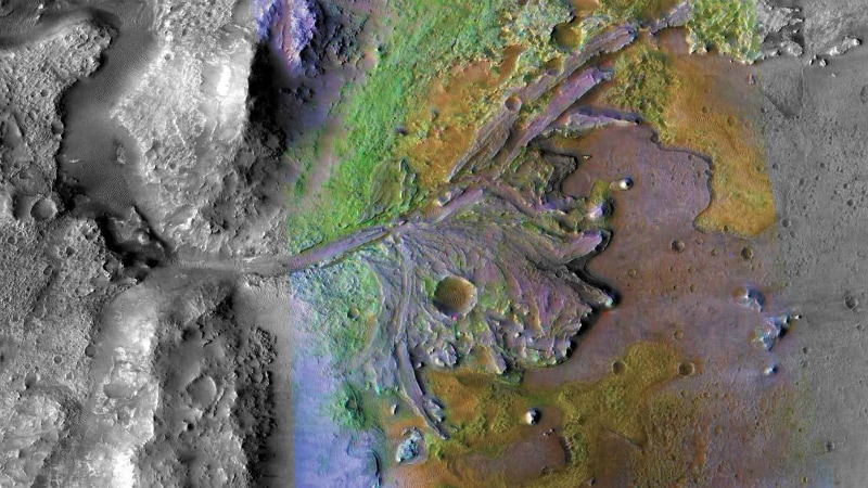 NASA Picks Ancient Martian River Delta for 2020 Rover Touchdown