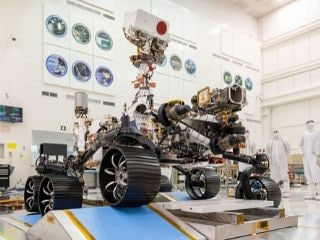 NASA's Next Mars Rover Perseverance Honours Medical Teams Fighting Coronavirus
