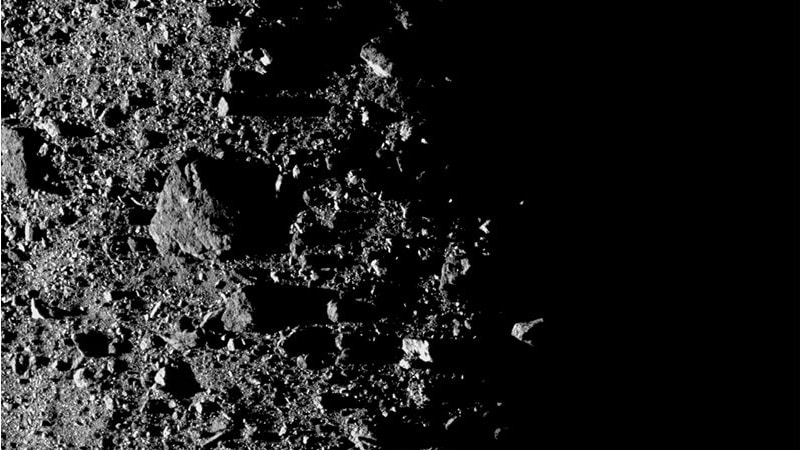 REx Spots Unexplained Particle Ejections from Asteroid Bennu