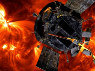 NASA Spacecraft Circling the Sun Stumbles Upon a Trail of Shooting Stars