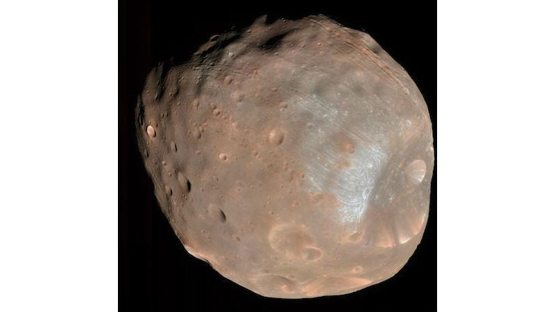 NASA Tweaks MAVEN's Course to Avoid Collision With Phobos