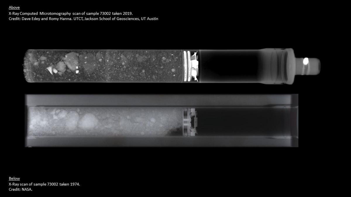 NASA to Study Previously Unopened Apollo Sample