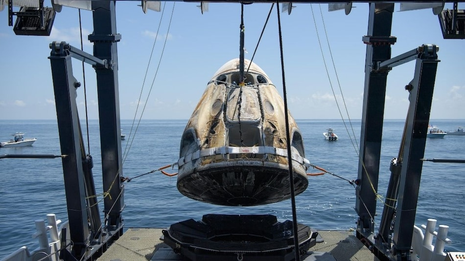 SpaceX Crew Dragon Capsule With NASA Astronauts Returns Safely to Earth