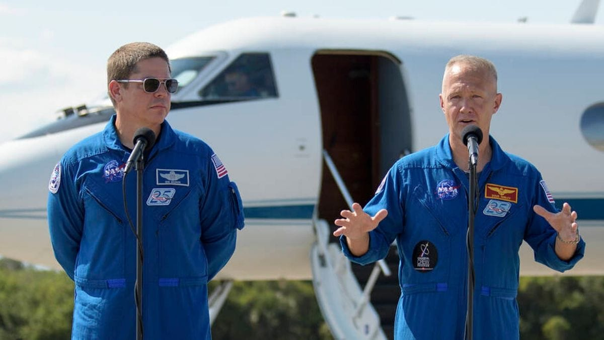 NASA's head of human spaceflight resigns days before historic launch of astronauts