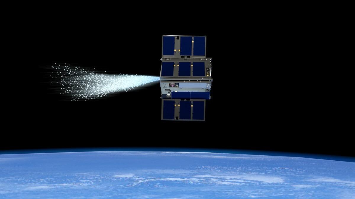 NASA Demos Water-Powered Spacecraft Abilities in Earth Orbit