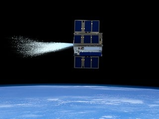 NASA Demos Water-Powered Spacecraft Abilities in Earth Orbit