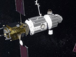 NASA Plans to Build Moon-Orbiting Spaceport