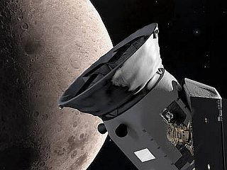 NASA's TESS Swings by Moon, Clicks First Image